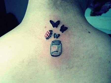 tatuagem 3d delicada