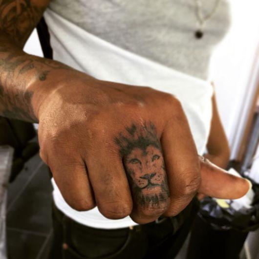 tatuagem 3d pele negra