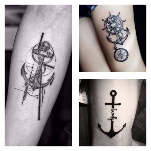 tatuagem de ancora