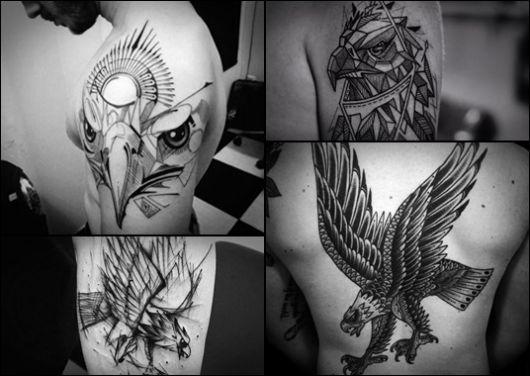 Tatuagem de Águia – Principais Significados & 35 Inspirações Iradas!