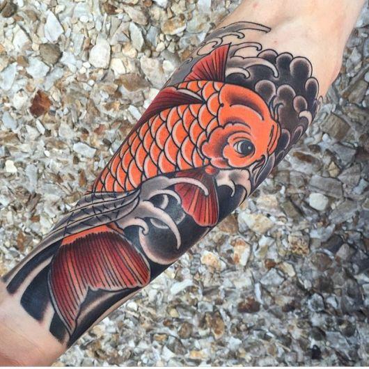 Tatuagem De Peixe Significado 30 Ideias Para Se Inspirar