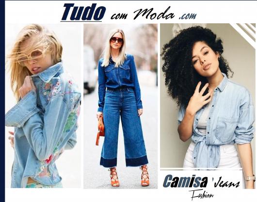 Camisa Jeans Feminina – Como Usar com 55 Looks Incrivelmente Lindos!