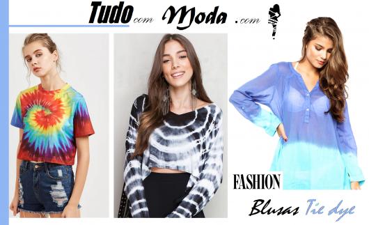 Camiseta Tie-Dye Feminina – 40 Looks Incríveis, Dicas & Tutoriais DIY!