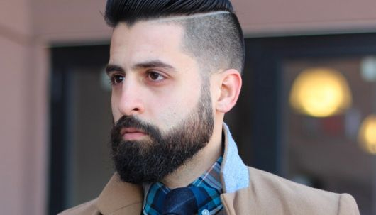 Esse estilo de barba + degradê está em alta