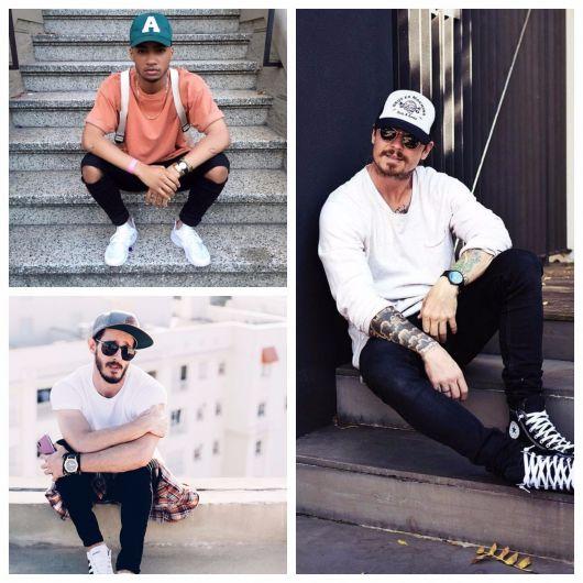 Como Usar Boné Masculino – 60 Looks, Dicas & Modelos para se Inspirar!
