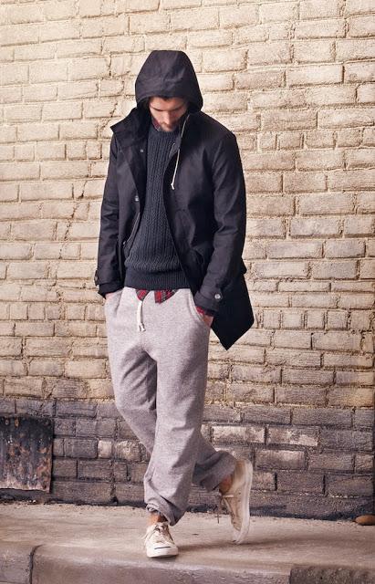 calça moletom masculina cinza
