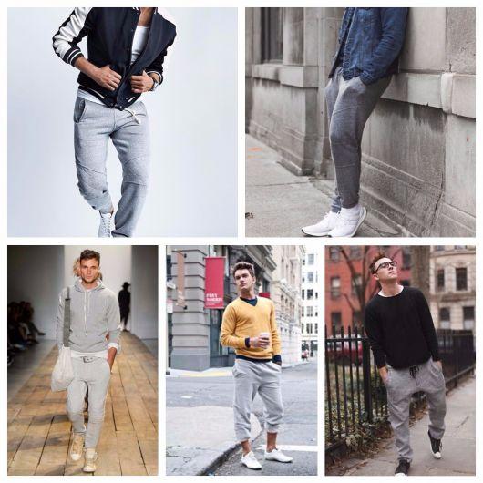 calça moletom masculina