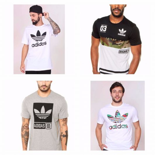 34761e92a Camiseta Masculina  Marcas famosas