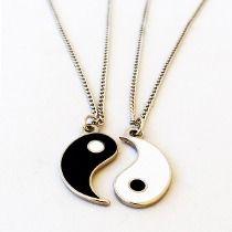 Yin Yang preto e branco