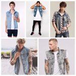 Colete Jeans Masculino – Como Usar com 60 Modelos Estilosos!