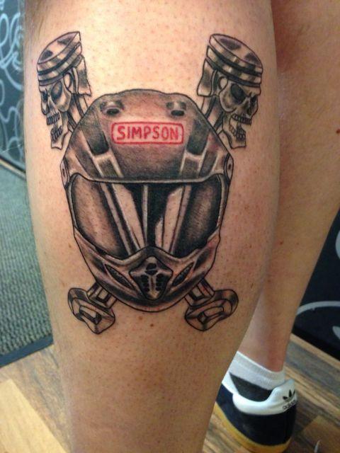 Tatuagem de Moto Significado dicas e 65 ideias
