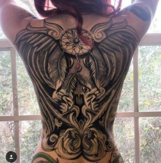 Tatuagem nas costas inteira modelos