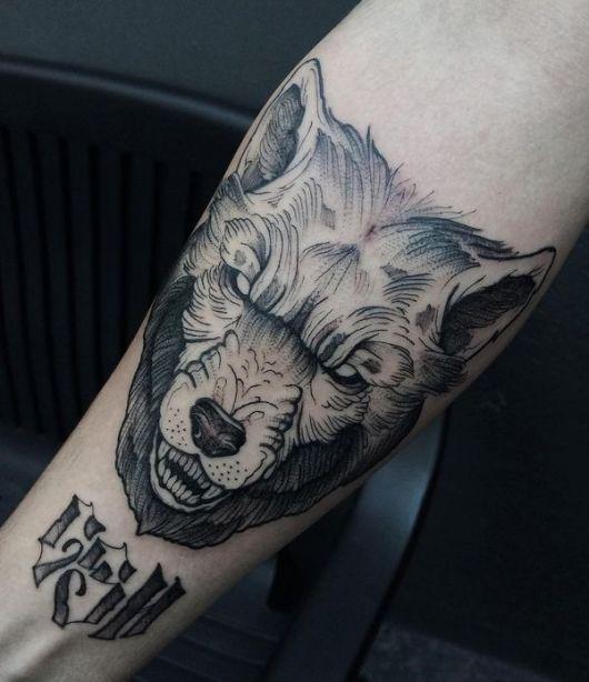 Super Tatuagem de Lobo – 90 Ideias Maneiríssimas & Significados! JX78