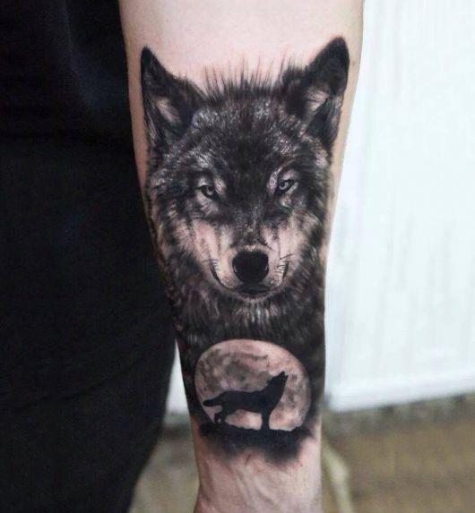 Tatuagem de Lobo \u2013 90 Ideias Maneiríssimas \u0026 Significados!
