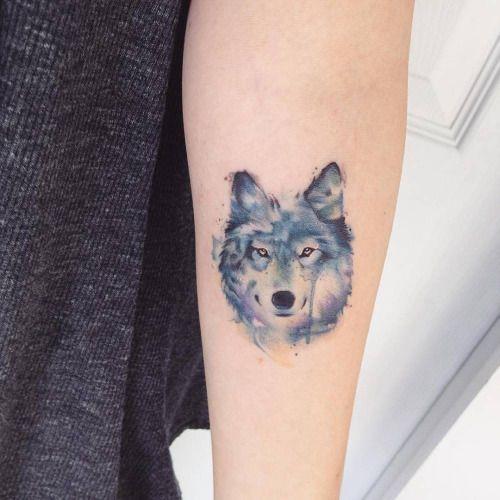 Tatuagem De Lobo 90 Ideias Maneiríssimas Significados