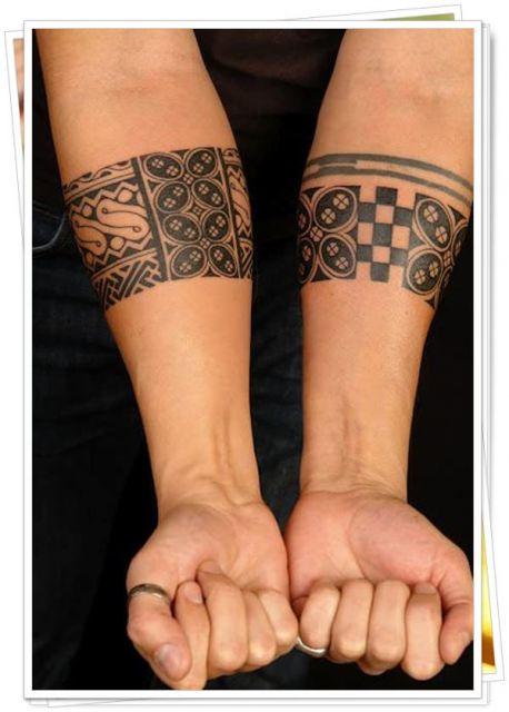 tatuagem tribal no braço
