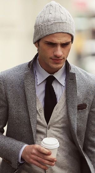 touca masculina colorida