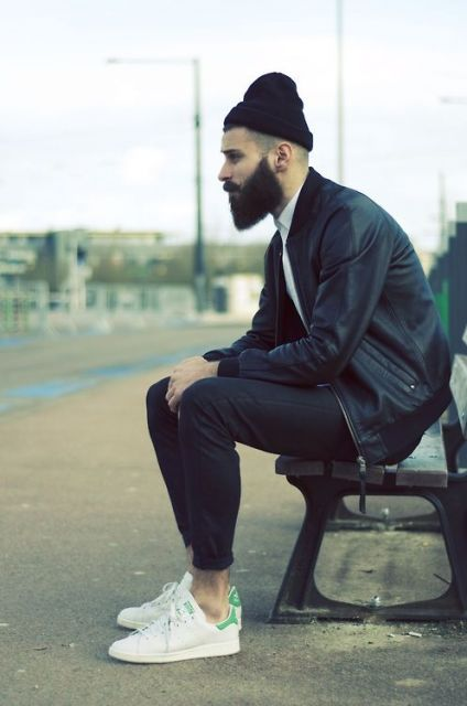 touca masculina preta