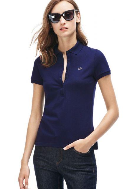 c4ee6fae504e2 Camiseta Polo Feminina – 50 Looks Incríveis   Dicas de Como Usar!