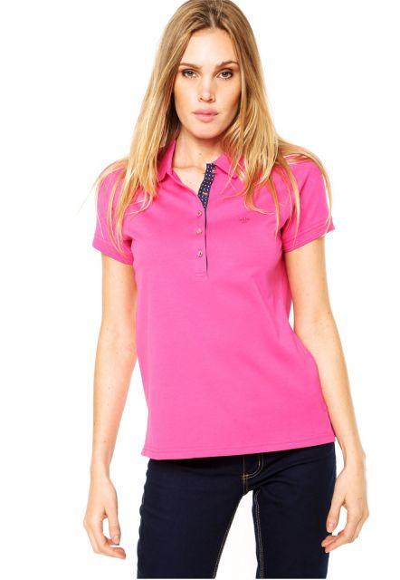 738de0e463888 Camiseta Polo Feminina – 50 Looks Incríveis   Dicas de Como Usar!