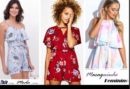 Macaquinho Feminino – 50 Looks Apaixonantes, Modelos & Como Usar!