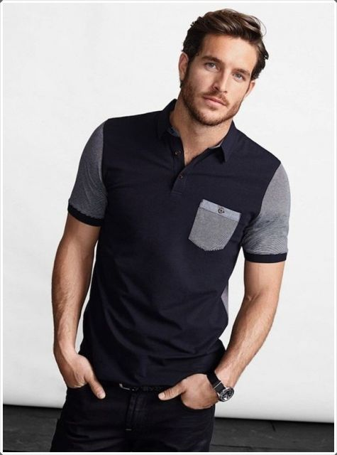 eb5ba42ced Camiseta Polo Masculina – 85 Modelos