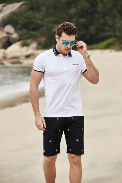 ... complementares camiseta polo branca c6c82a0bd6054