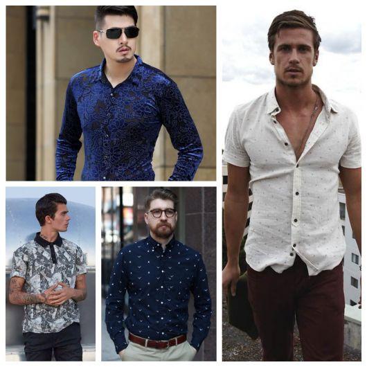 f5947e8b4c Camisa Social Masculina – 100 Modelos Espetaculares   Como Usar!