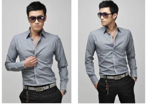eb323bdf49 Camisa Social Masculina – 100 Modelos Espetaculares   Como Usar!