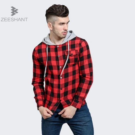 636aef4d9d Camisa Xadrez Masculina – Dicas de Como Usar   100 Modelos Estilosos!