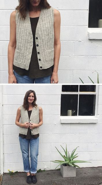 colete feminino com botões