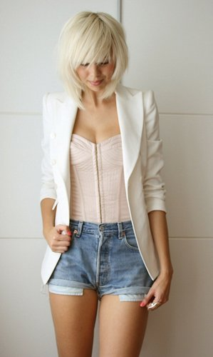 look com short e blazer