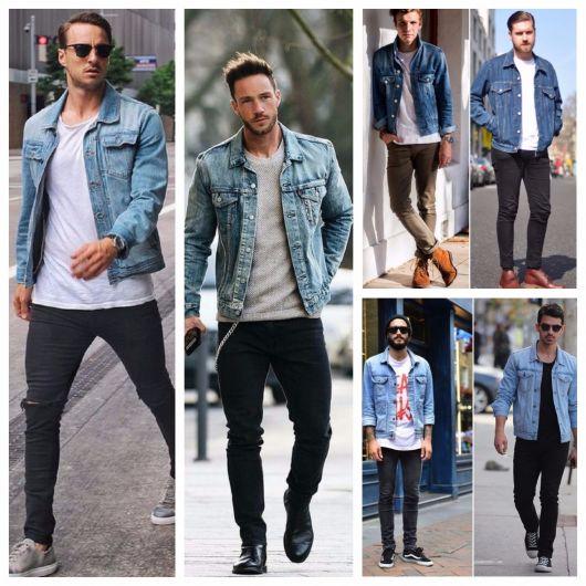 Como Usar Jaqueta Jeans Masculina – 80 Modelos   Dicas de Marcas! 79af6bd38cb