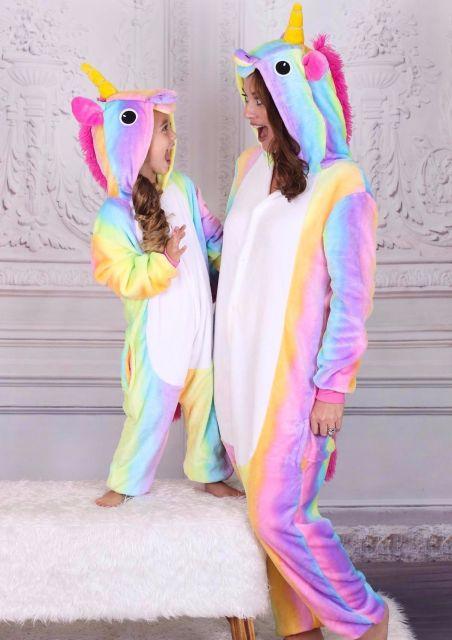 pijama tal mãe, tal filha