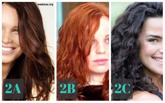 cabelos tipo 2