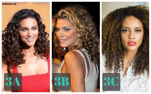 cabelos tipo 3