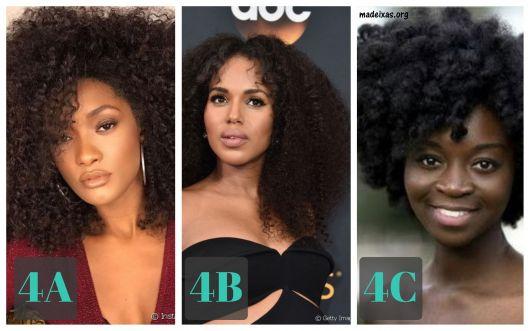 cabelos tipo 4