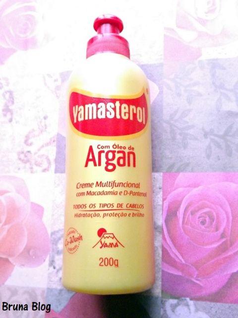 creme com óleo de Argan