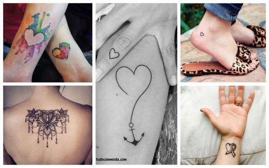 Tatuagem De Coração Significados E 90 Modelos Lindos Para