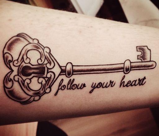 tatuagem chave