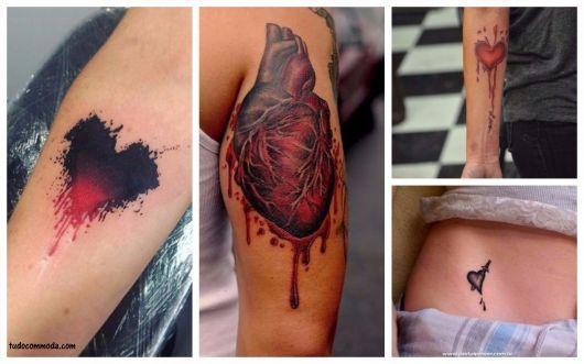significado tatuagem coração