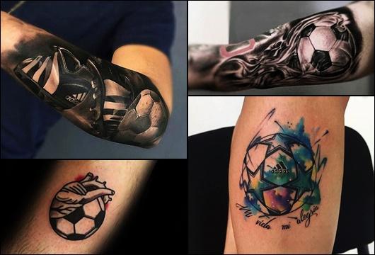 Tatuagem de Futebol: 25 Ótimos Exemplos para se Inspirar!