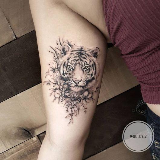 Tigres V Scorpions Tatuagem de Tigre: Sig...
