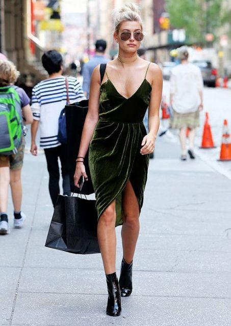 vestido com bota