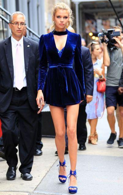 look vestido com sandália