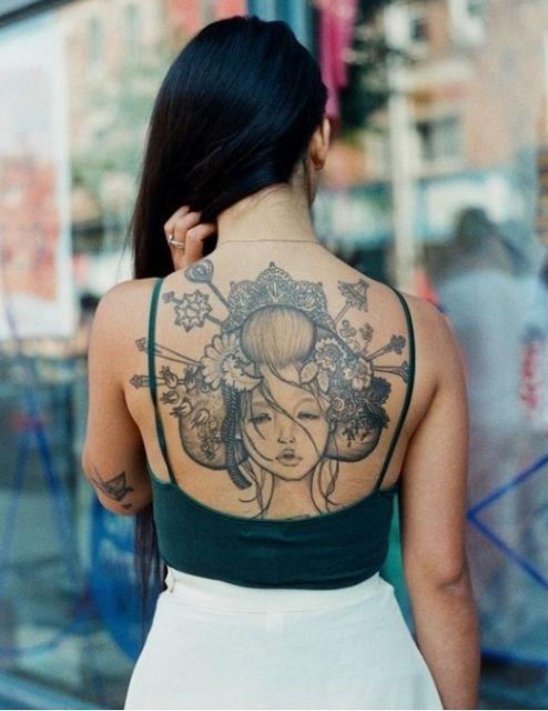 Tatuagem De Gueixa Veja As 41 Lindas Inspirações E Dicas