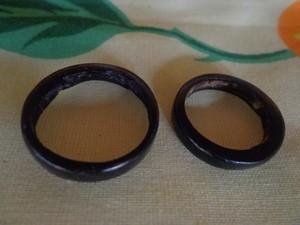 anel de coco como aliança de casamento