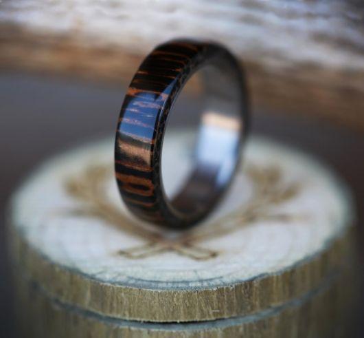 anel de coco com estampa