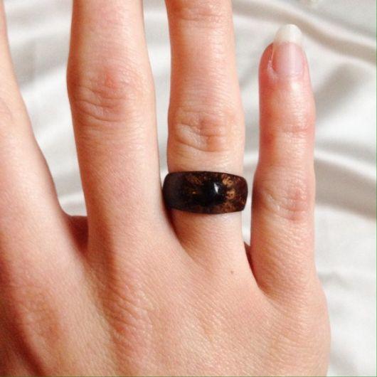anel de coco largo