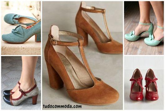 modelos de sapatos vintage